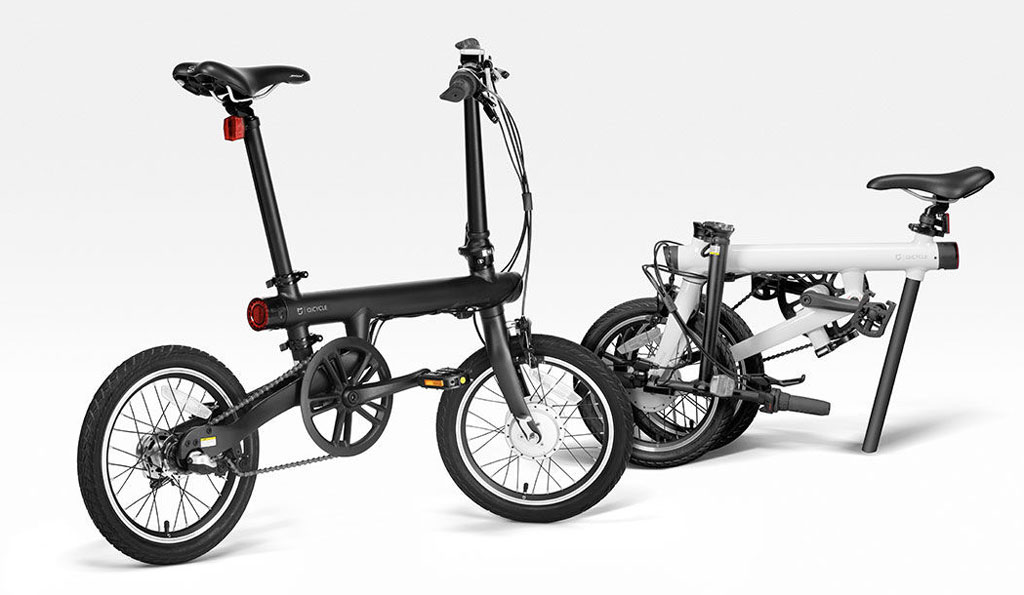 Электровелосипед Xiaomi MiJia QiCycle Folding Electric Bike